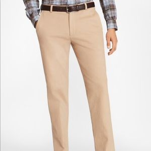 NWT Brooks Brothers Clark Fit Brushed Twill Chinos